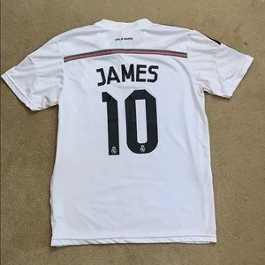 James Real Madrid Jersey